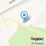 Братский бензин на карте Братска