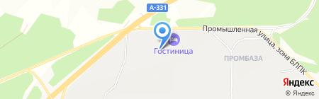 АвтоРемонтный двор на карте Братска