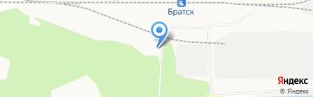 СКА на карте Братска