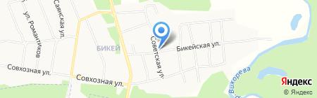 Продуктовый магазин на Бикейской на карте Братска