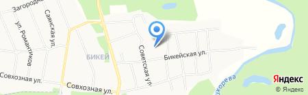 Ивушка на карте Братска