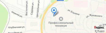 Дорожная служба Иркутской области на карте Братска