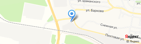 Автогамма на карте Братска