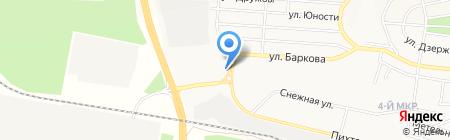 Магазин автостекла на карте Братска