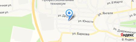 Горячий хлеб на карте Братска