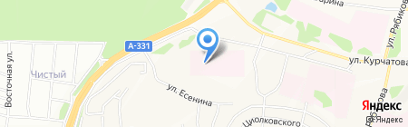 Братская центральная районная больница на карте Братска