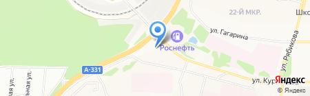 Автостекла на карте Братска
