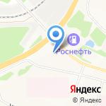 Байкал-Шина на карте Братска