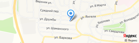 Авеню на карте Братска
