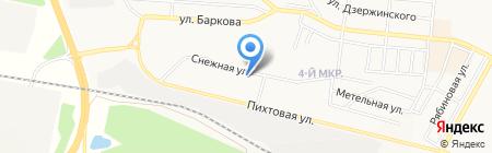 D`Арк на карте Братска