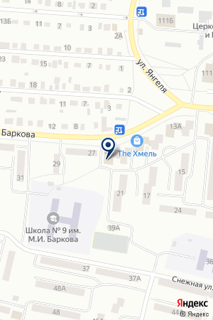 Почтовое отделение №10 на карте Братска