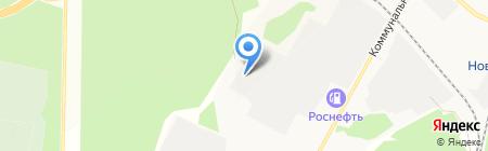 ВИКО-Братск на карте Братска
