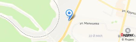 Братск-Автоматика на карте Братска