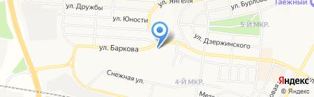 Каспий на карте Братска