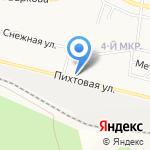 О`Кей на карте Братска