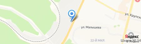 Автоштуки на карте Братска