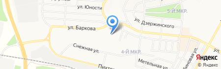 Продовольственный магазин на карте Братска