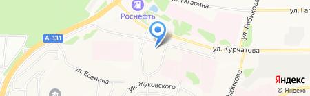 Братск-АВТОДИЛЕР на карте Братска