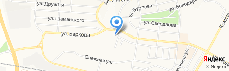 Магазин зоотоваров на карте Братска