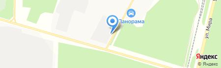 Статусная+ на карте Братска