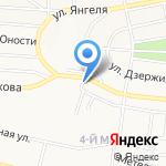 Гуляй по-русски на карте Братска