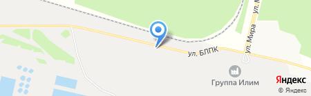АвтоСпецНаз на карте Братска