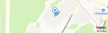 Мелкооптовая компания на карте Братска