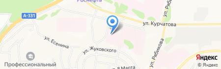 Братский дом-интернат для престарелых и инвалидов на карте Братска