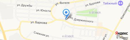 Панацея на карте Братска
