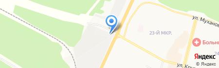 Автомастерская на карте Братска