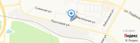 Братский межрайонный орган Федеральной службы по контролю за оборотом наркотиков по Иркутской области на карте Братска