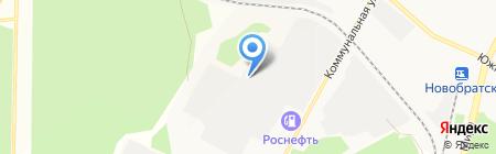 Гортекс на карте Братска