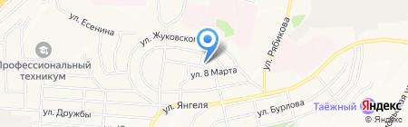 Братская Библейская Церковь на карте Братска