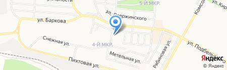 Иркутский областной противотуберкулезный диспансер на карте Братска