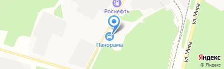 На ДиВаНе на карте Братска