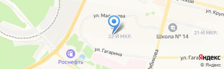 Спарта на карте Братска
