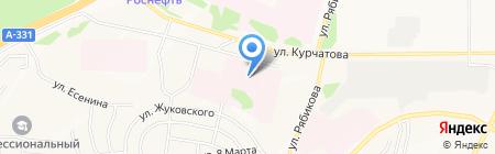 Банкомат Банк ВТБ 24 ПАО на карте Братска