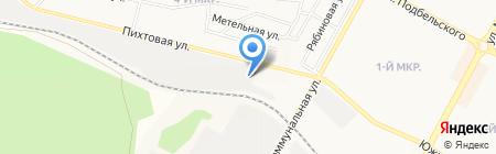 АвтоМаляр на карте Братска