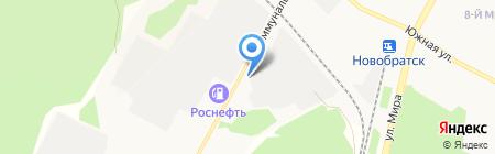 Фирменный магазин пива на карте Братска