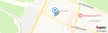 МасКом на карте Братска
