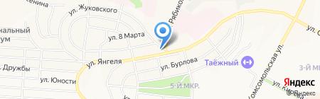 Айболит на карте Братска