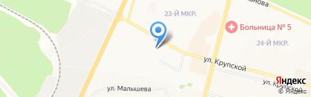 М.видео на карте Братска