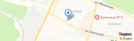 Сапфир на карте Братска