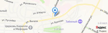 Диагностическая ветеринарная лаборатория на карте Братска