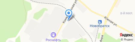 Харон на карте Братска