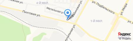 Чемпивон на карте Братска