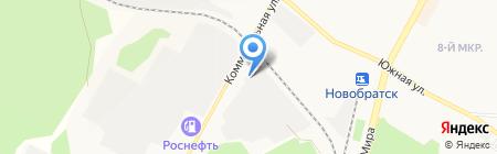 Авто-ритет на карте Братска