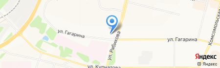 Домоуправление на карте Братска