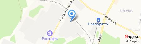 Автоэксперт на карте Братска