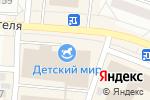 Схема проезда до компании Nadin в Братске